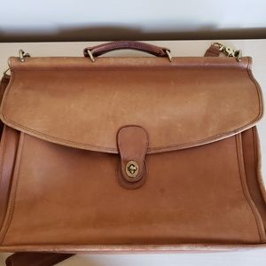 Vintage Coach Willis messenger briefcase